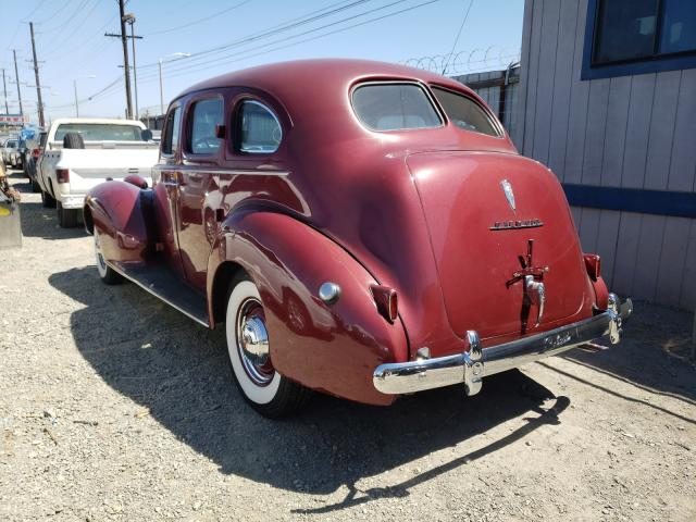 1940 Pack All Models Red  - rear left view