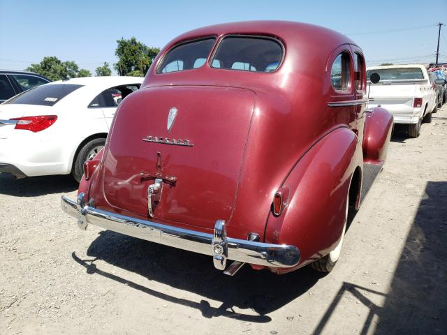 1940 Pack All Models Red  - rear right view