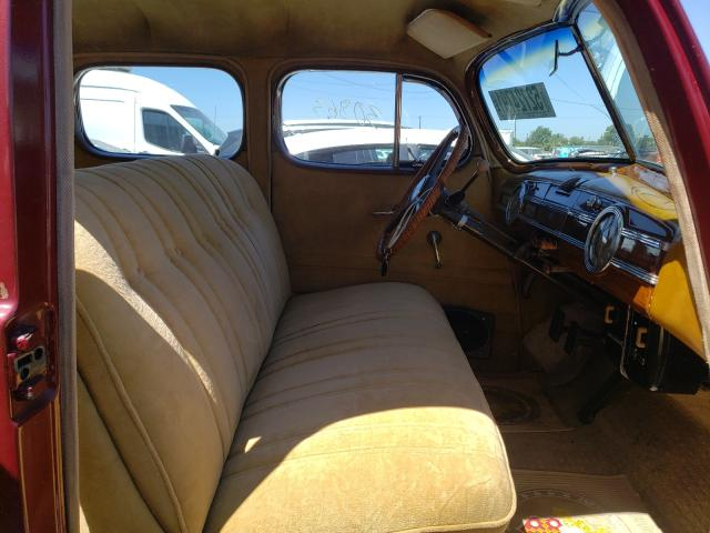 1940 Pack All Models Red  - interior - front