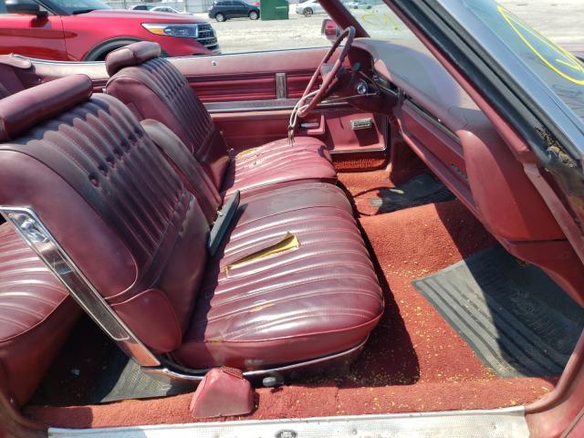 1975 Oldsmobile Delta 88 Burgundy  - back view
