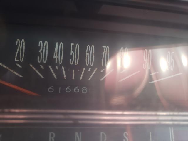 1975 Oldsmobile Delta 88 Burgundy  - odometer