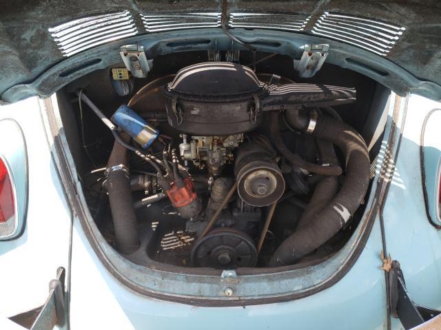 1972 Volkswagen Beetle Blue  - engine