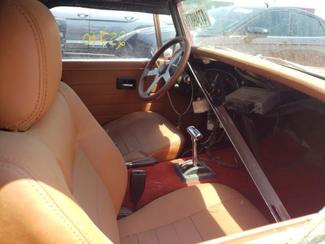 1965 Aust Healy Red  - interior - front