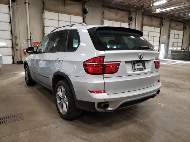 2011 Bmw X5 Xdrive3 Silver  - rear left view