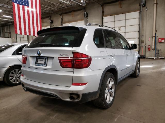 2011 Bmw X5 Xdrive3 Silver  - rear right view