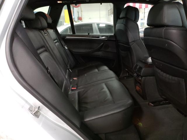 2011 Bmw X5 Xdrive3 Silver  - back view