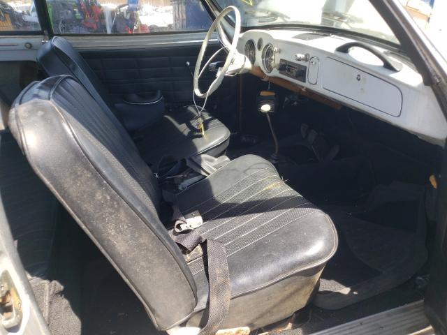1965 Volkswagen Beetle Gray  - interior - front