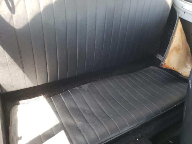 1965 Volkswagen Beetle Gray  - back view