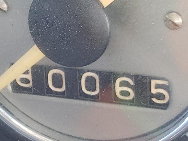 1965 Volkswagen Beetle Gray  - odometer