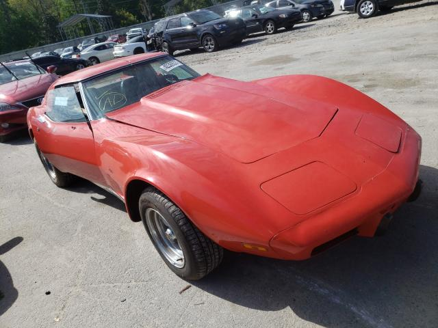1975 Chevrolet Corvette Red  - front right view