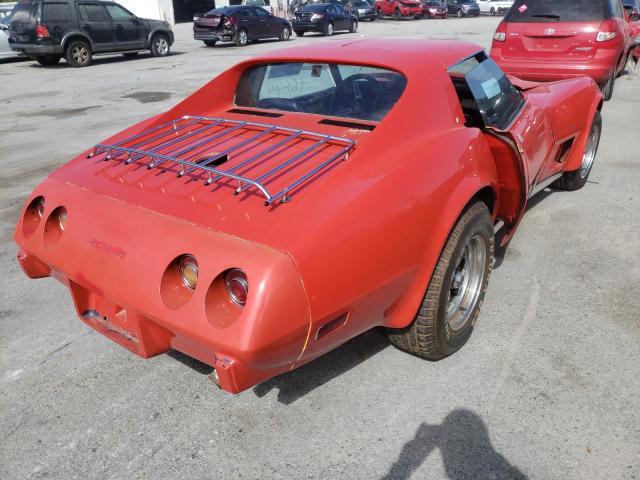 1975 Chevrolet Corvette Red  - rear right view