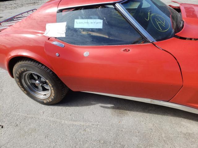 1975 Chevrolet Corvette Red