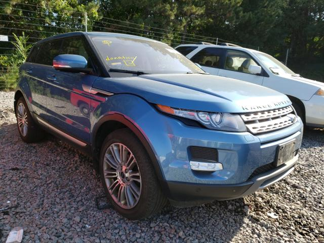 2012 Land Range Rover Blue  - front right view