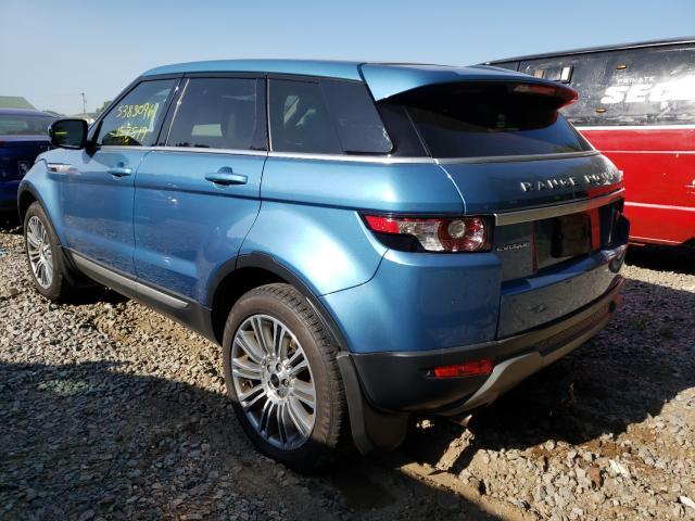 2012 Land Range Rover Blue  - rear left view