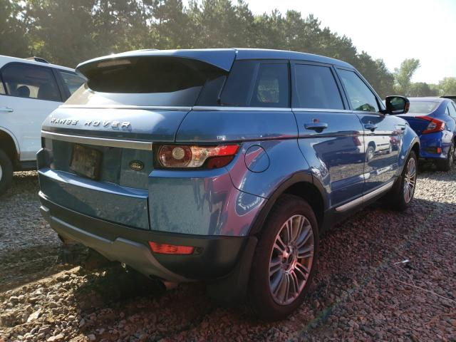 2012 Land Range Rover Blue  - rear right view