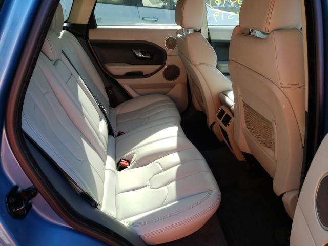 2012 Land Range Rover Blue  - back view