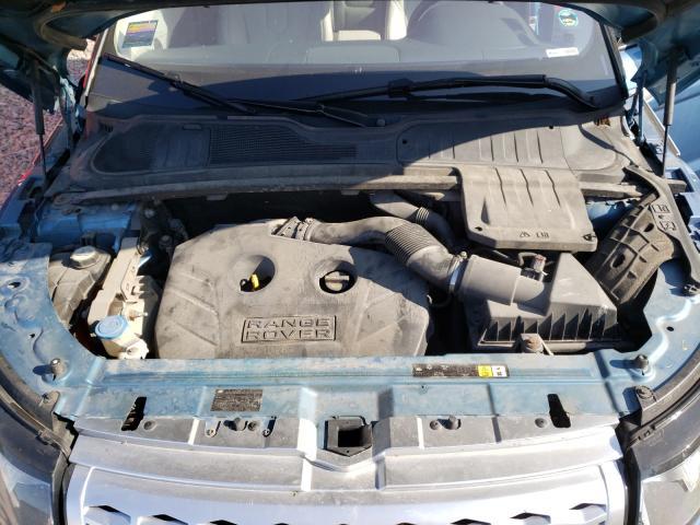 2012 Land Range Rover Blue  - engine